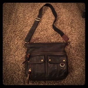 Fossil Morgan Zip Top Crossbody
